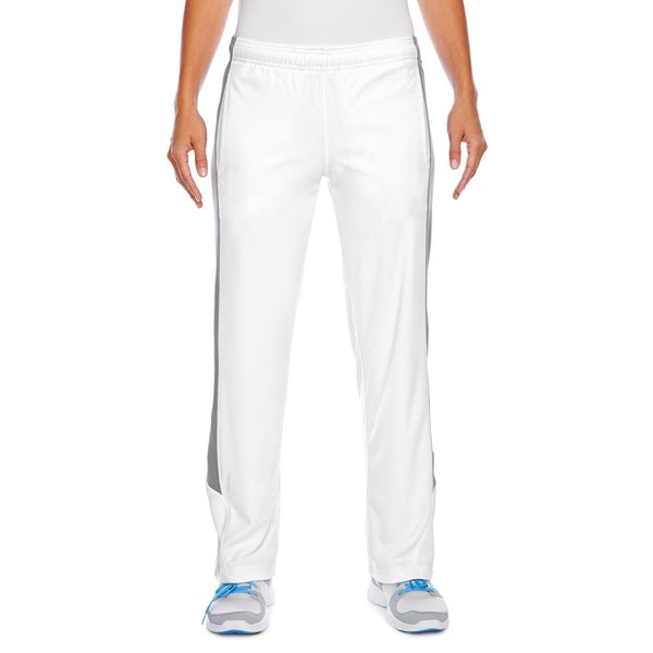 Elite Women's White/Sport Graphite Fleece Performance Pant 19826487