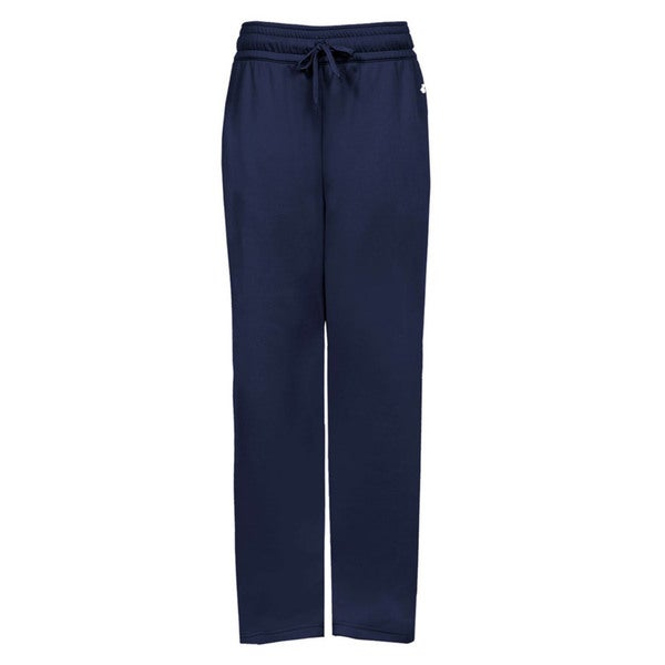 Performance Women's Navy Blue Polyester Pant With Side Pockets 19826740