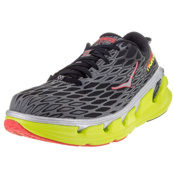 Hoka One One Vanquish 2 Black/Acid Running Shoe
