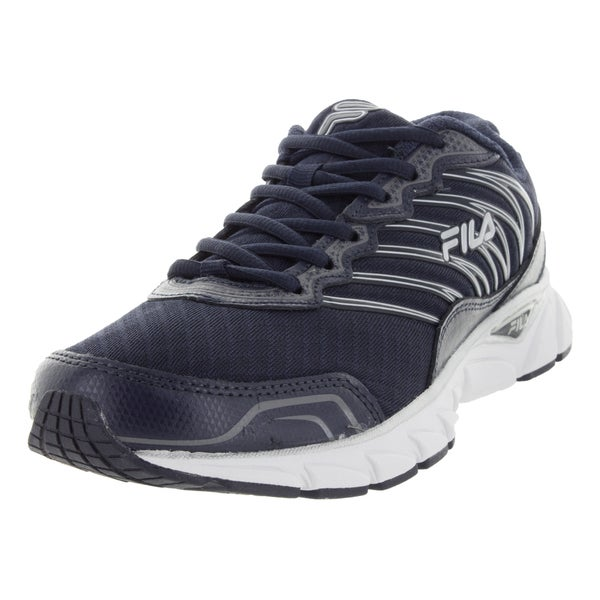 Fila Men's Countdown Navy/White/Silver Running Shoe