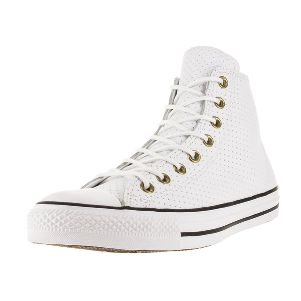 Converse Unisex Chuck Taylor All Star Hi White/Biscui Basketball Shoe