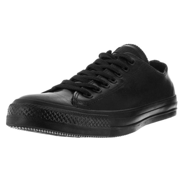 Converse Unisex Chuck Taylor All Star Ox Black/Black Basketball Shoe