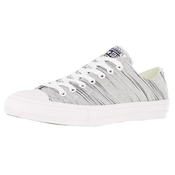 Converse Unisex Chuck Taylor Ii Ox White/Black Basketball Shoe