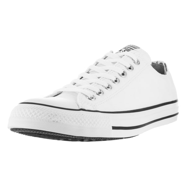 Converse Men's Chuck Taylor All Star Ox White/White Basketball Shoe
