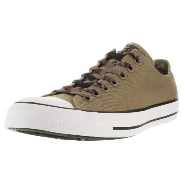 Converse Men's Chuck Taylor All Star Ox Sandy/Sandy/White Basketball Shoe