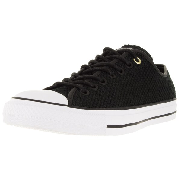 Converse Unisex Chuck Taylor All Star Ox Black/Black Basketball Shoe