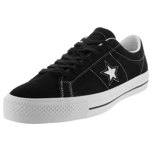 Converse Unisex One Star Skate Black/White Skate Shoe