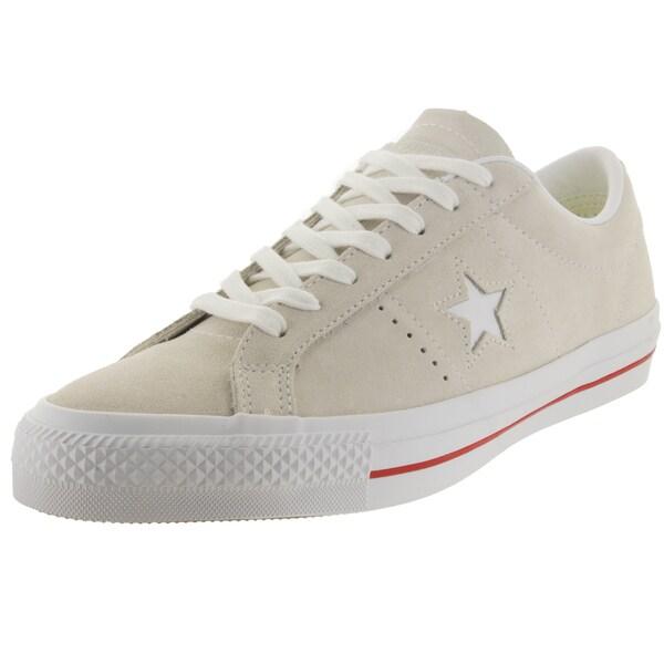 Converse Unisex One Star Skate Egret/White Skate Shoe