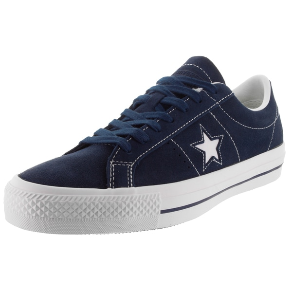 Converse Unisex One Star Skate Navy/White/W Skate Shoe