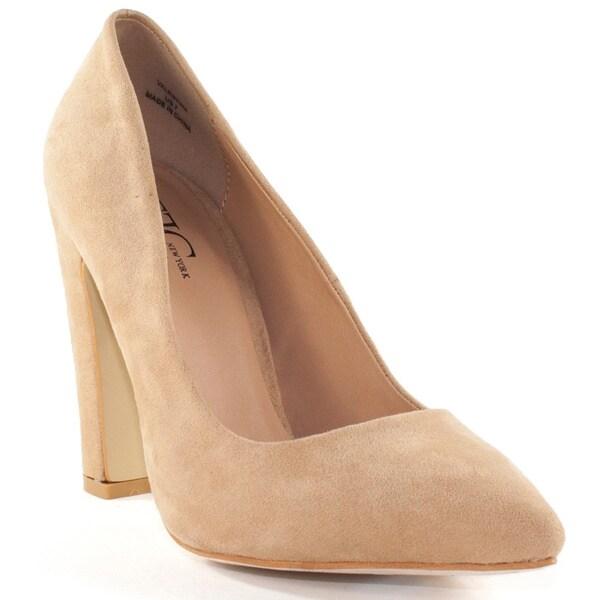 VALENTINA Camel High Heel