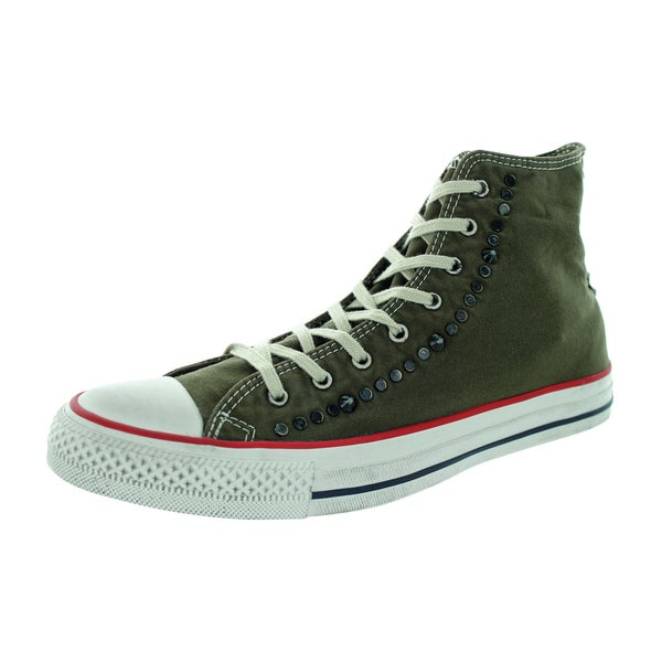 Converse Unisex Chuck Taylor Hi Grape/Leaf Basketball Shoe