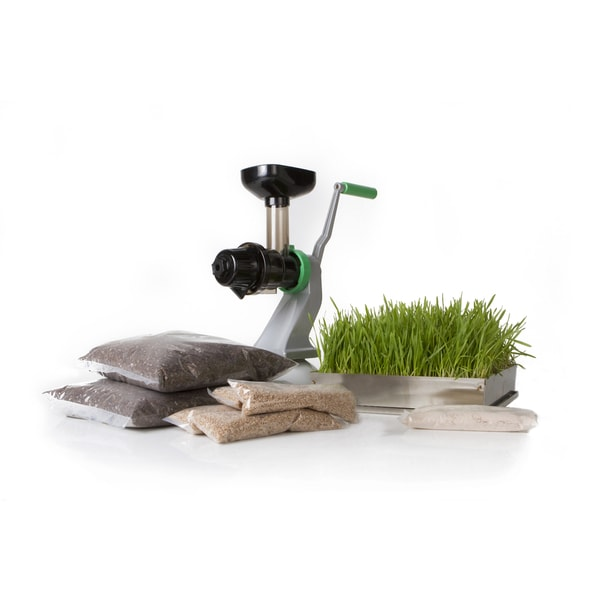 Starter Wheatgrass Kit With Manual Juicer