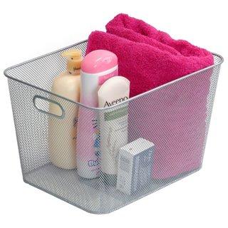 Mesh Open-bin Storage Basket Organizer