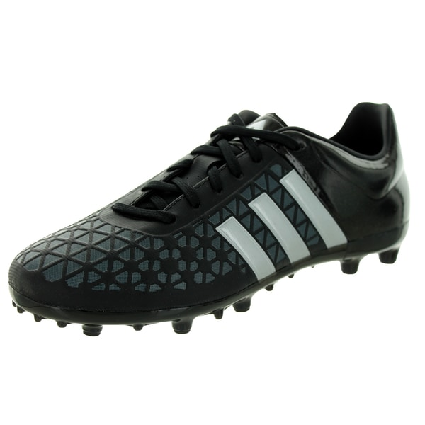 Adidas Kid's Ace 15.3 Fg/Ag J Blackver/ Soccer Cleat