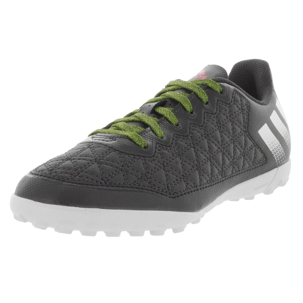 Adidas Kid's Ace 16.3 Cg J Dark Grey/Grey/Green Turf Soccer Shoe