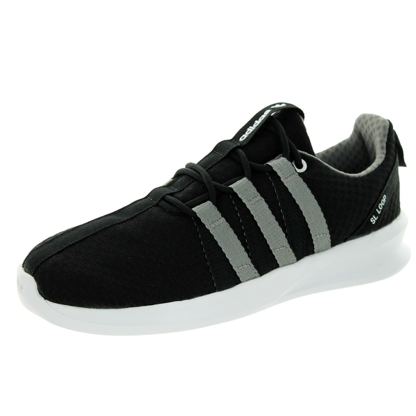 Adidas Kid's Sl Loop Racer C Originals Black/White/Black Running Shoe