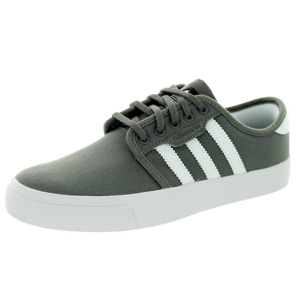 Adidas Kid's Seeley J Midcin/RunWhite/Black Skate Shoe