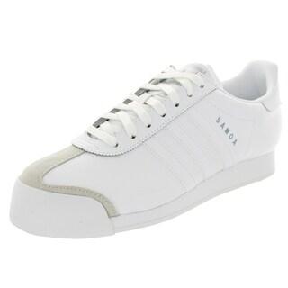 Adidas Men's Samoa Originals Running White/White Casual Shoe