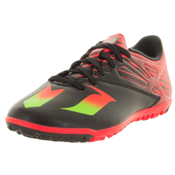 Adidas Men's Messi 15.3 Ft. Black/Green/Red Turf Soccer Shoe