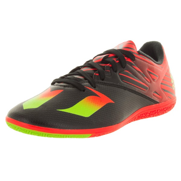 Adidas Men's Messi 15.3 In Black/Green/Red Indoor Soccer Shoe