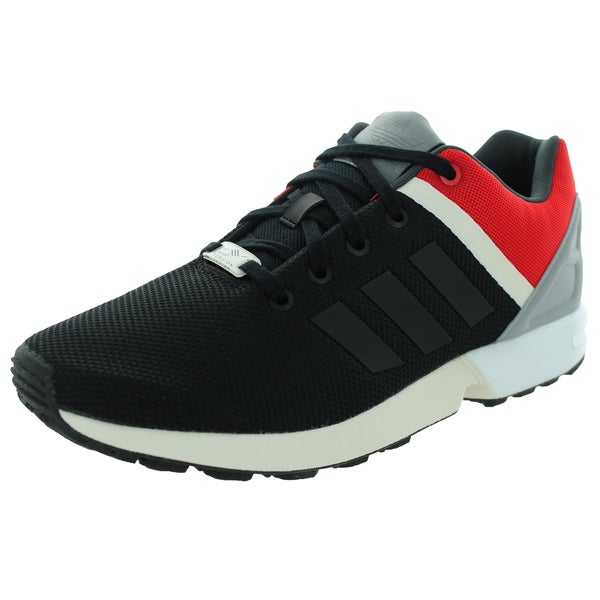 Adidas Men's Zx Flux Split Black/Black/Scarlett Running Shoe