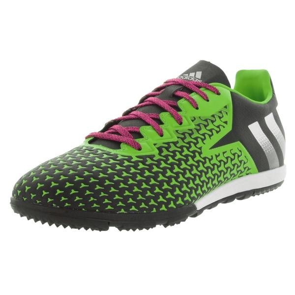 Adidas Men's Ace 16.2 Cg Black/White/Green Turf Soccer Shoe