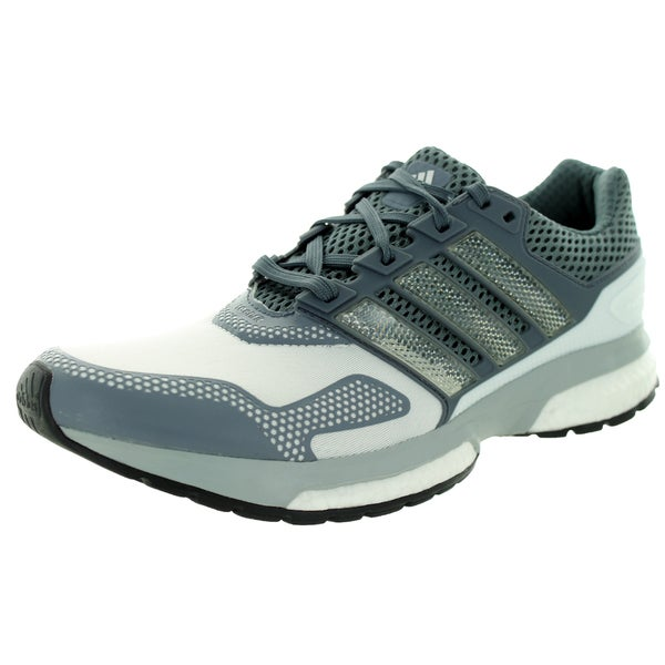 Adidas Men's Response Boost 2 Techfit M Grey/White Running Shoe