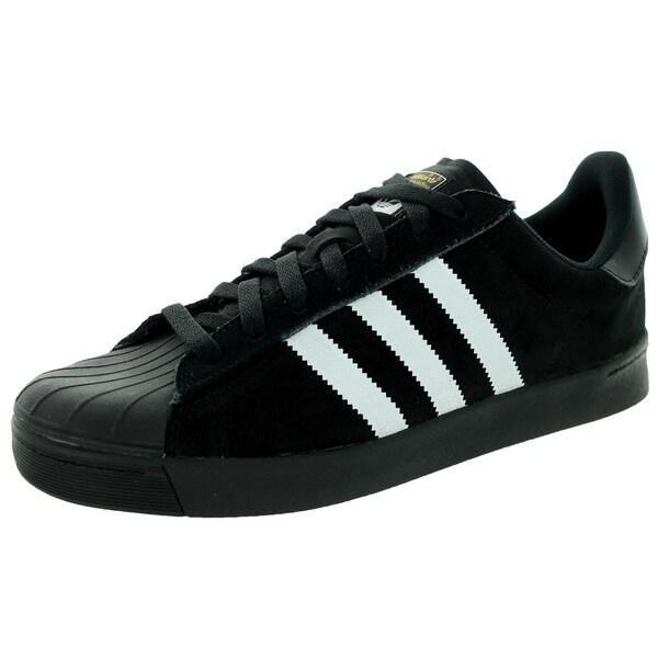 Adidas Men's Superstar Vulc A Black/White/Black Skate Shoe
