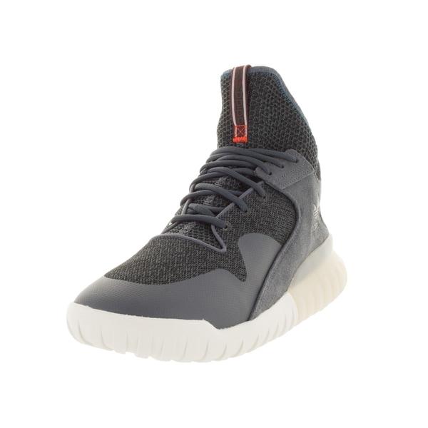 Adidas Men's Tubular x Originals Boonix/Boonix/White Basketball Shoe
