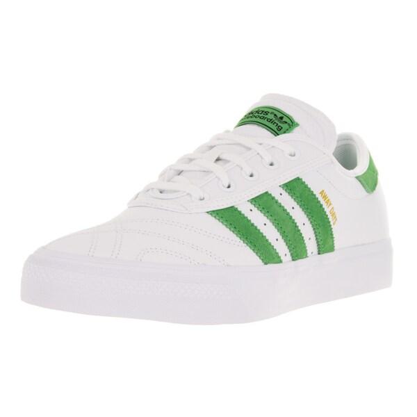Adidas Men's Adi-Ease Premiere Away Day White/Sesoli/Gum4 Skate Shoe