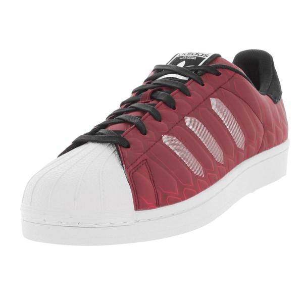 Adidas Men's Superstar Ctxm Originals Burgundy/White/Black Basketball Shoe