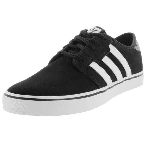 Adidas Men's Seeley Black/White/Black Skate Shoe