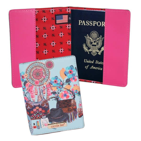 Nicole Lee Exclusive Closet Print Passport Holder