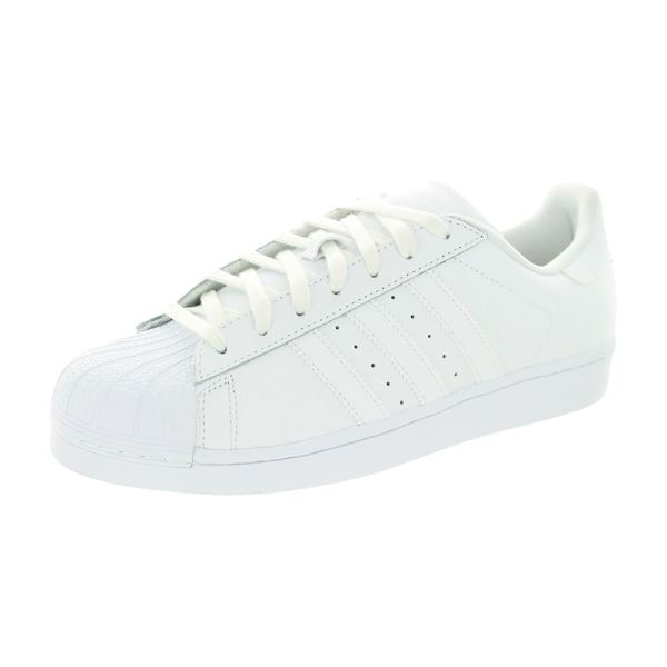 Adidas Men's Superstar Foundation Originals White/White/White Basketball Shoe