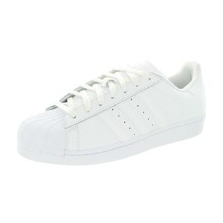 Adidas Men's Superstar Foundation Originals White/White/White Basketball Shoe