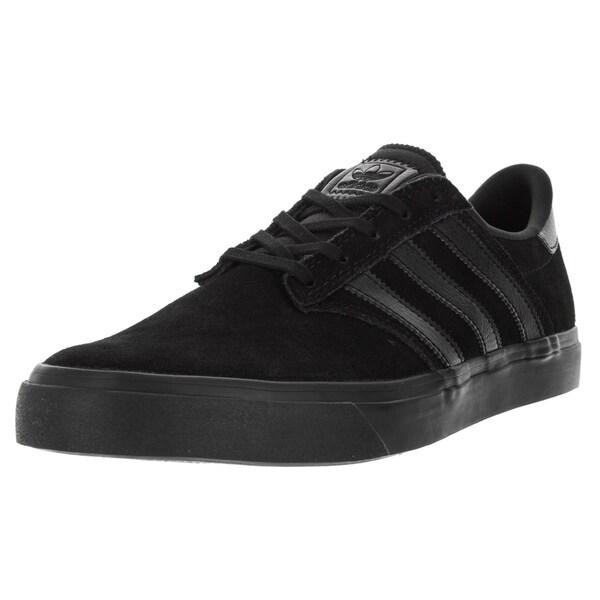 Adidas Men's Seeley Premiere Black Skate Shoe