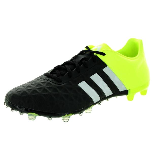 Adidas Men's Ace 15.2 Fg/Ag Black/White/ Soccer Cleat