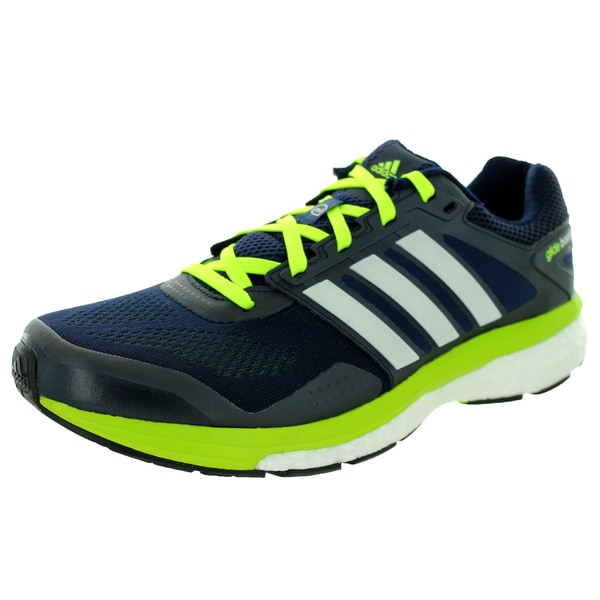 Adidas Men's Supeova Glide Boost 7 M Collegiate Navy Running Shoe
