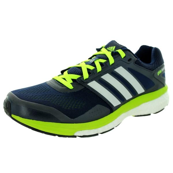 Adidas Men's Supeova Glide Boost 7 M Collegiate Navy Running Shoe