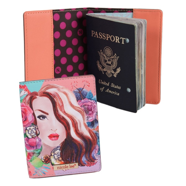 Nicole Lee Exclusive Gemma Print Passport Holder