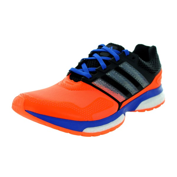 Adidas Men's Response Boost 2 Techfit M Orange/Blue/Black Running Shoe