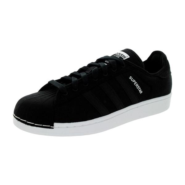 Adidas Men's Superstar Festival Pack Originals Black/Black/White Basketball Shoe