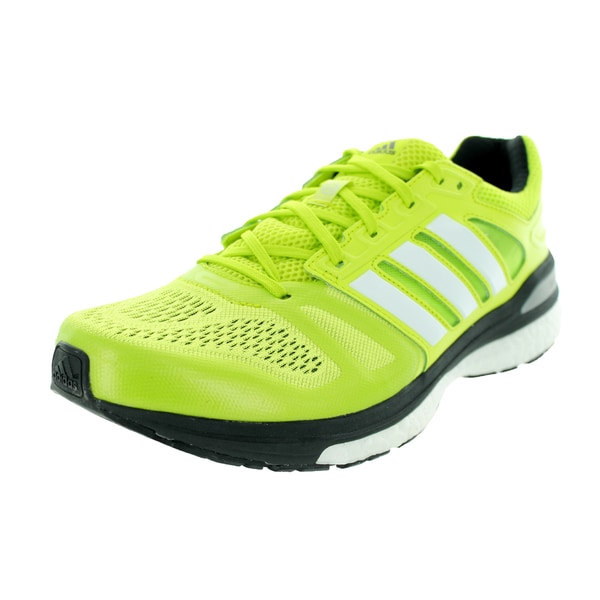Adidas Men's Supeova Sequence 7 Semi Solar Yellow/White/Black Running Shoe