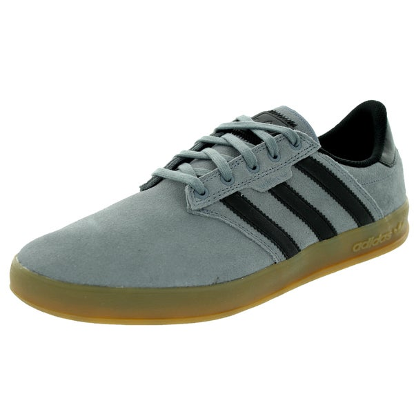 Adidas Men's Seeley Cup Grey/Black/Gum4 Skate Shoe