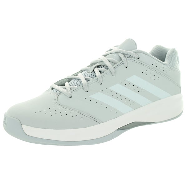 Adidas Men's Isolation 2 Low Grey/White Basketball Shoe