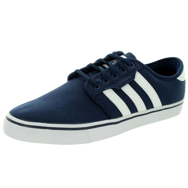Adidas Men's Seeley Navy/White/Navy Skate Shoe