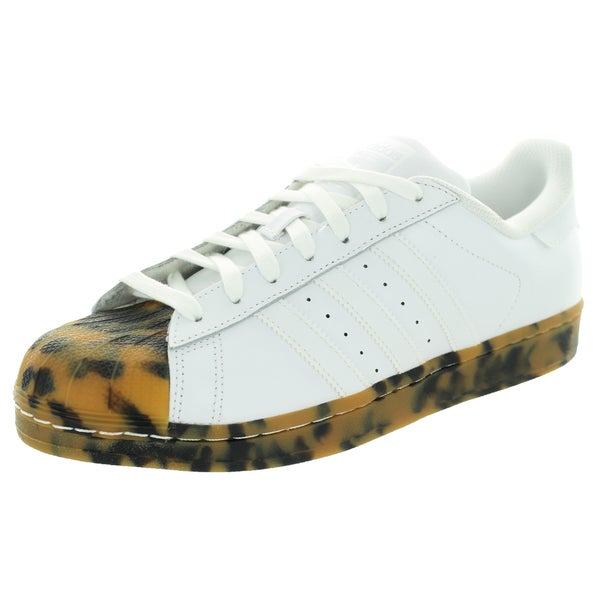 Adidas Men's Superstar Originals White/White/White Casual Shoe 19830345