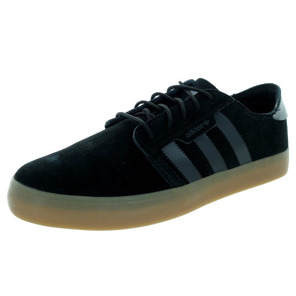 Adidas Men's Seeley Essential Black/Black/Gum4 Skate Shoe