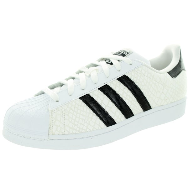 Adidas Men's Superstar Originals White/Black/White Casual Shoe