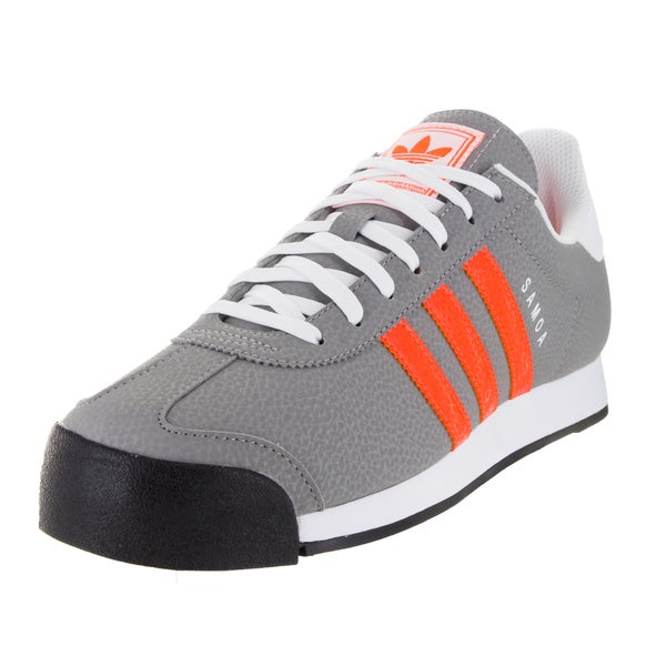 Adidas Men's Samoa Originals /Orange/White Casual Shoe